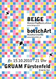 Flyer Beige botschart